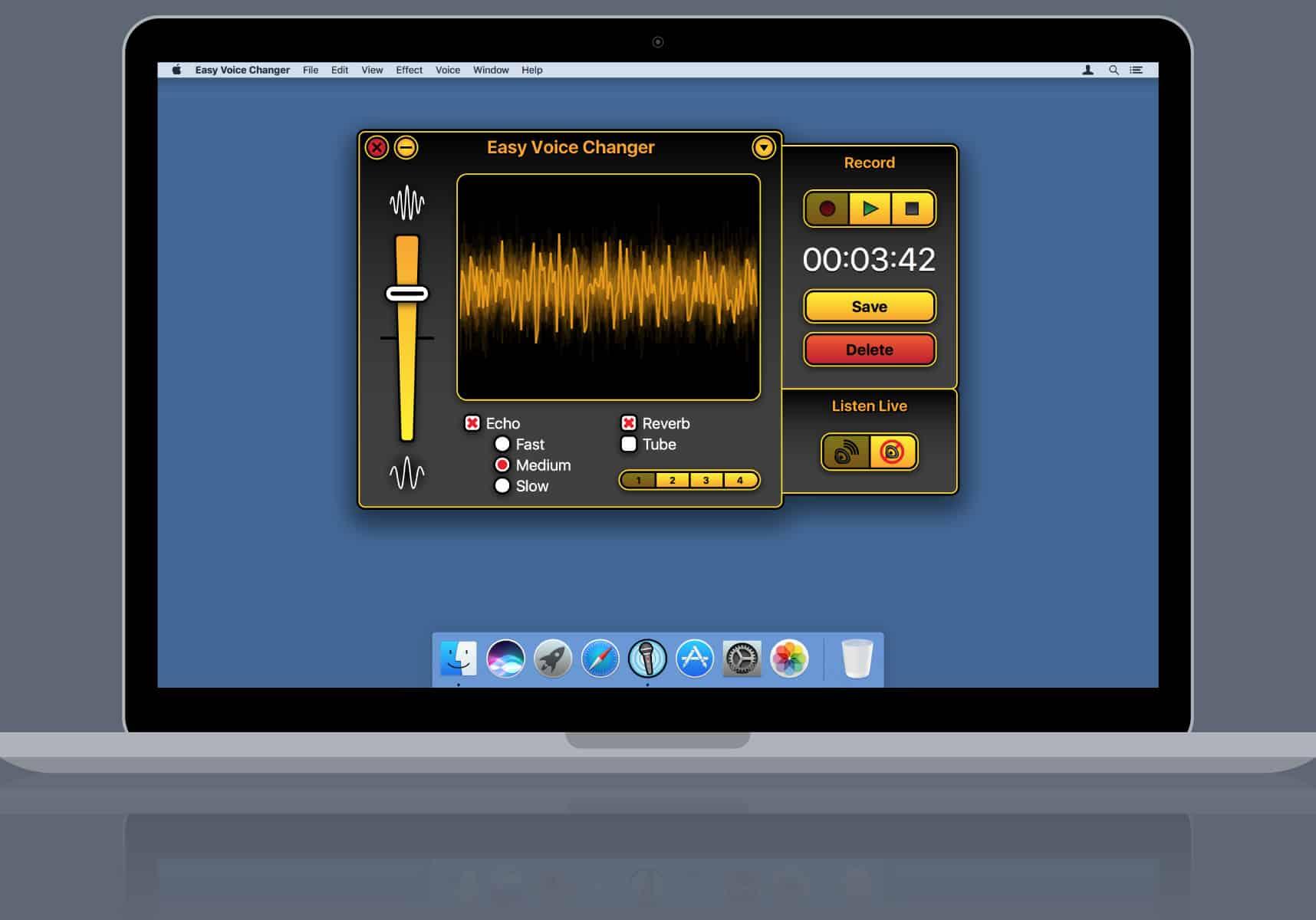 easy voice changer mac